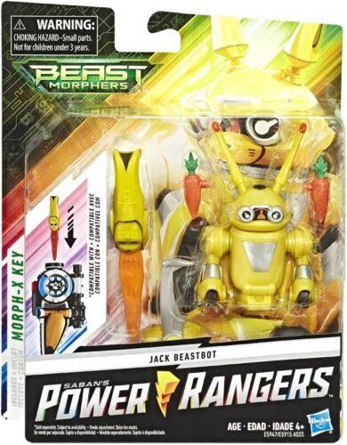 Power Rangers Bestia Morphers Jack beastbot Figura de Acción 9cm