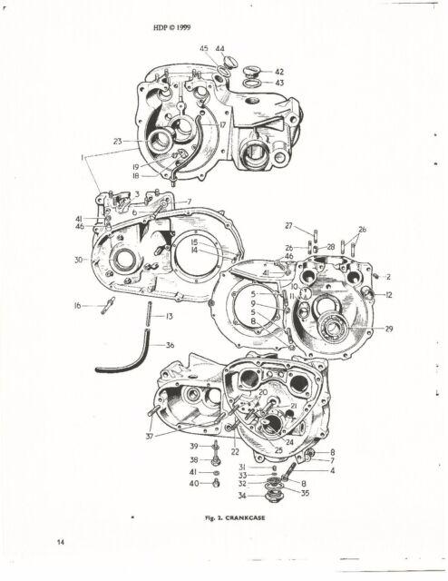 Triumph Parts Manual Book 1965 Tiger 100 T 100 Ss For Sale Online
