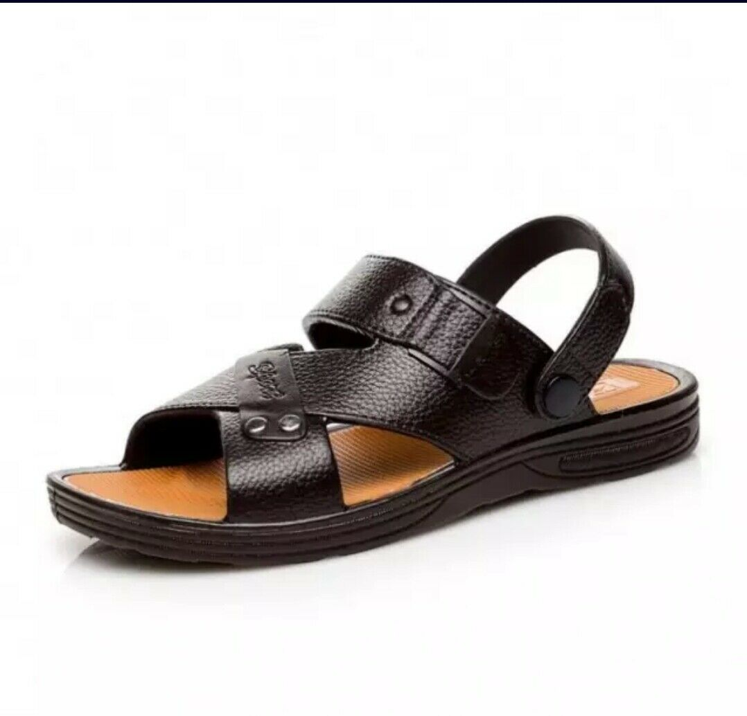 Men's Stylish rubber summer sandals casual wear beach sports holiday sandals