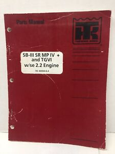 Details about Thermo King TK 40594-6.4 Parts Manual SB-III SR MPIV on
