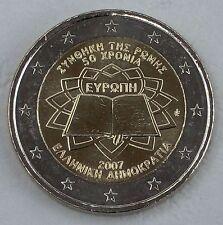 2 Euro Griechenland 2007 Römische Verträge unz