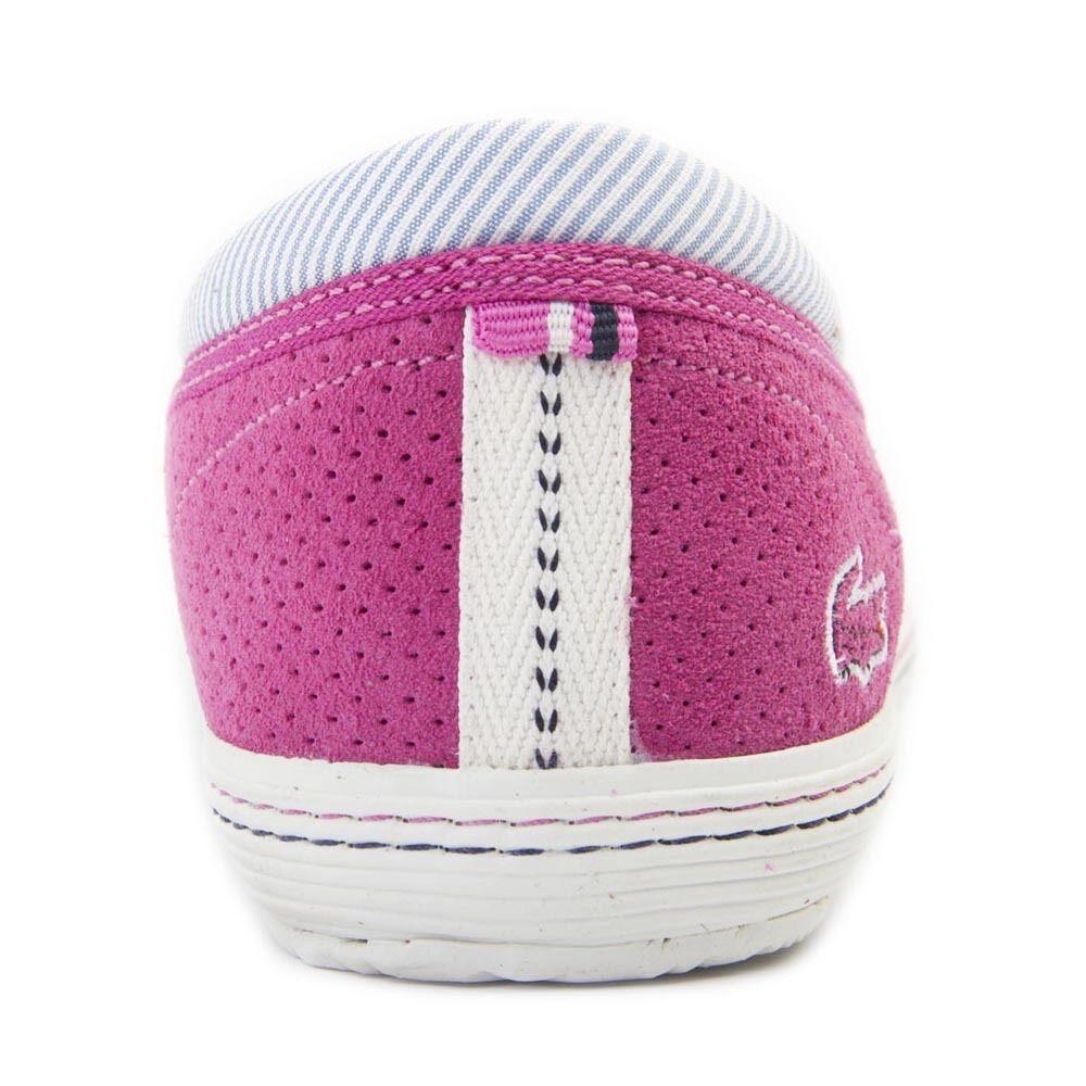 Lacoste Rohini Rohini Lacoste 5 AP SRW Pink Leder Schuhes Genuine BNIB e3b627