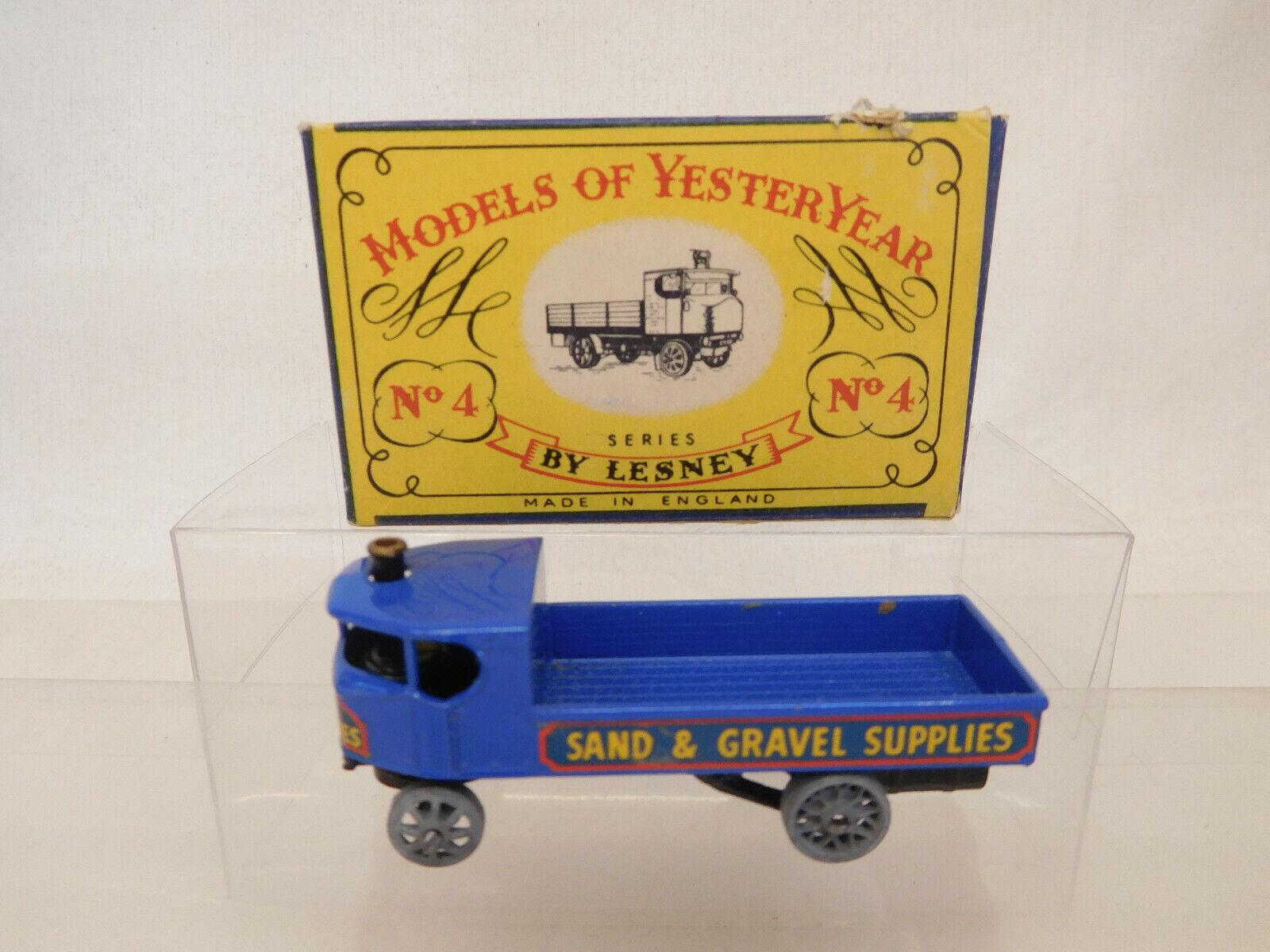 tienda de venta X-64322 X-64322 X-64322 Matchbox moy nº y4a Sentinel Steam Wagon, muy buen estado  barato y de alta calidad