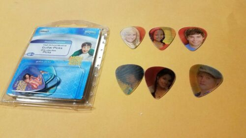 12 x High School Musical Movie Magic Guitar Picks Disney Motion Disney Washburn