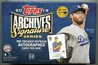 2019 Topps Archives Signature Series Baseball