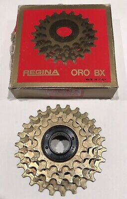 NOS Regina Oro BX Freewheel 6 Speed ISO Thread Eroica Vintage Road Bike