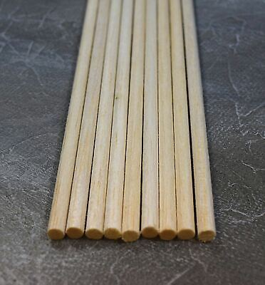 "Instancabile Wws Balsa Wood Dowel 6.5mm (1/4) Diameter 305mm (12"") Long - 9 Pack – Model"