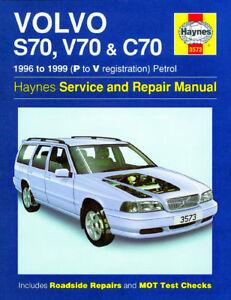 volvo s70 v70 c70 t5 96 99 petrol haynes manual 3573 ebay rh ebay co uk Haynes Manual Monte Carlo Back Haynes Manuals for 2003 Jeep