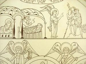 The-ADVERT-Shepherds-Wise-Men-France-Xie-Litho-Xixth-1858-Hangard-and-Mauge