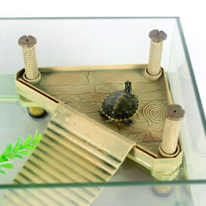 Tortoise-Turtle-Table-Small-Pet-Reptile-Sun-House-Aquarium-Fish-Tank-Accessories