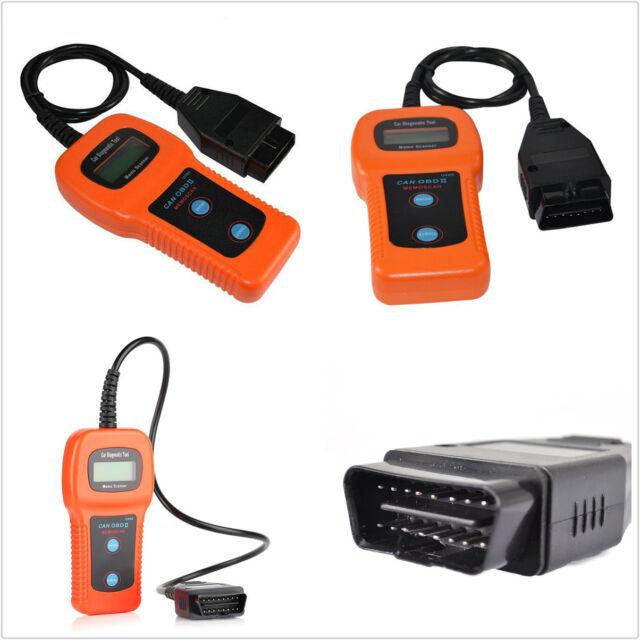 U480 Can OBDII Obd2 Elm327 Car Diagnostic Scanner Tool Engine Fault Code  Reader