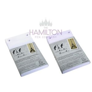 FAF DESKPAD REFILL Plain or Squared paper in various sizes