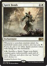 Spirit Bonds  NM   x4 M15  2015 Core Set    MTG Magic Cards White Rare