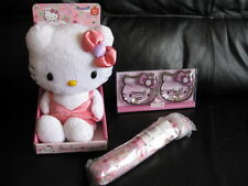 New Hello Kitty Bedwarmer + Umbrella + Hand Warmer - Gift Set.