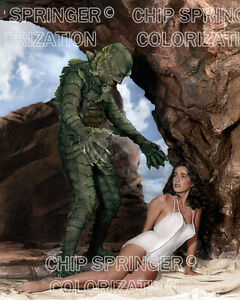 Julie adams creature from the black lagoon monster color for Creature from the black lagoon coloring pages