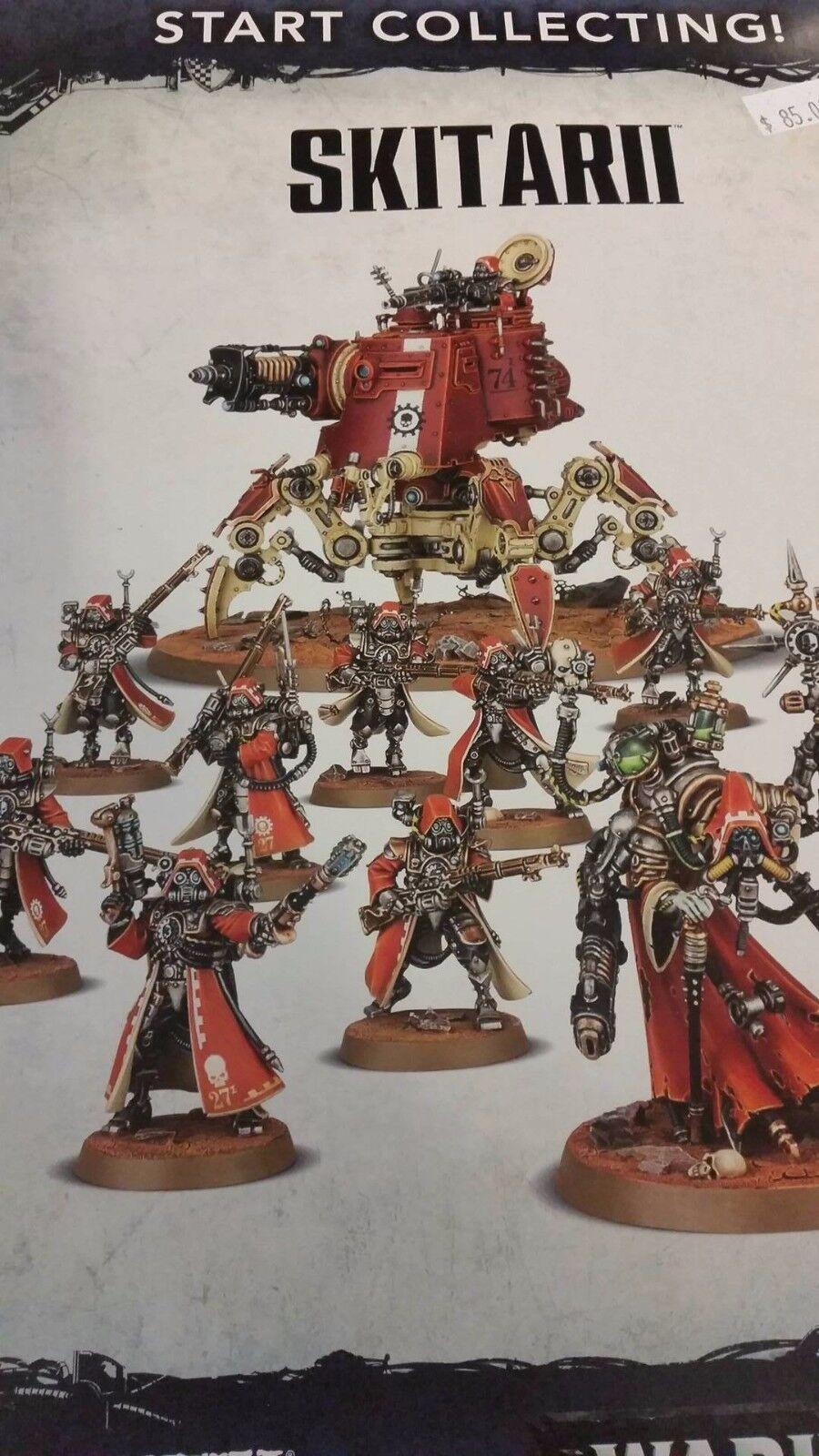 Warhammer 40k adeptus mechanicus sammeln skitarii dunecrawler & dominus