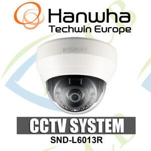 Samsung Techwin WiseNet Lite SND-L6013R 2MP Network Night Vision Dome Camera