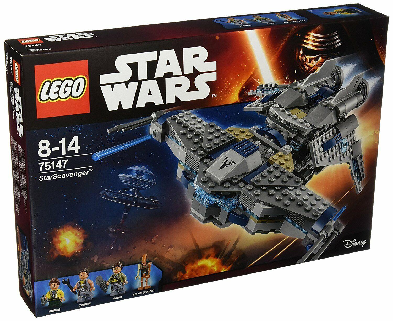 Lego® estrella guerras 75147 estrellaScavenger Neuware    nuovo   Sealed  grande sconto