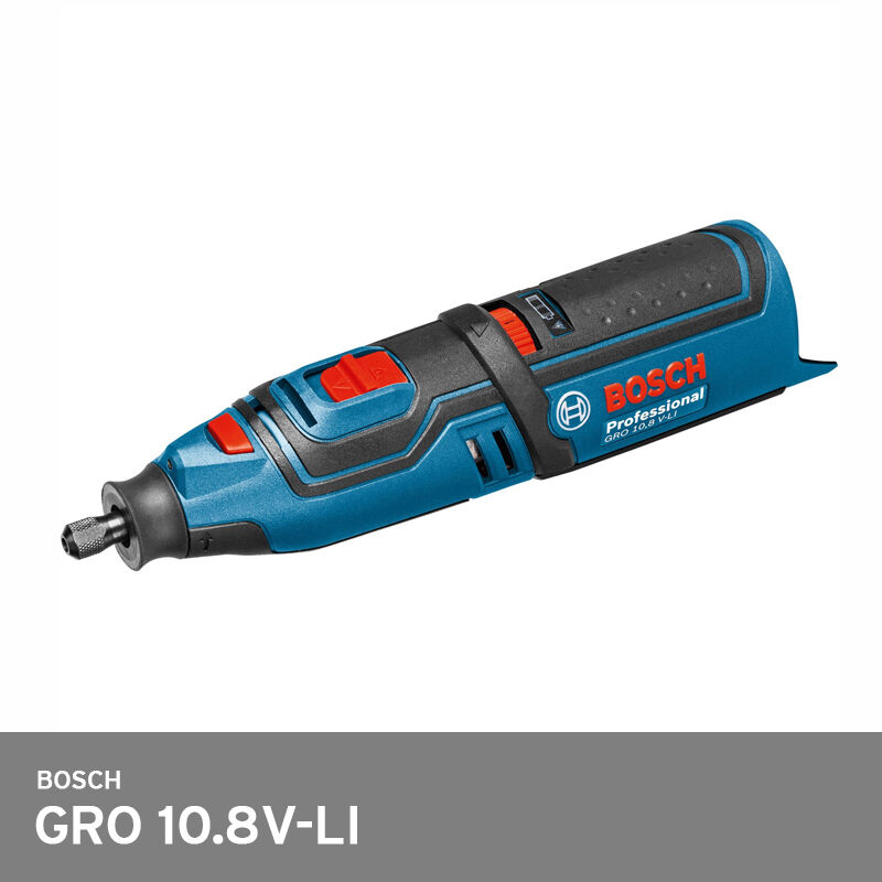 Bosch GRO 10.8V-LI Professional Cordless Rotary Multi Tool Track  Bare Body Only