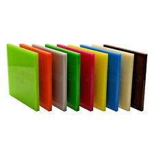 Acrylic Perspex® Colour Plastic Rigid Sheet 35 Different Colour A5 A4 A3 3 & 5mm
