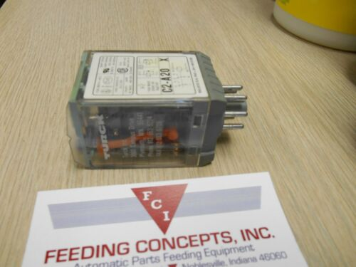 Turck-Releco C2-A20X Relay 10A Coil 120V NEW IN BOX.