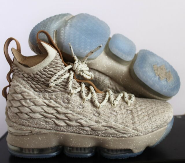quality design 7367f c0480 Nike Lebron 15 XV GS Ghost String Vachetta Tan Basketball Sz 6y 922811 200