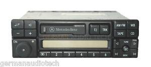 MERCEDES-RADIO-STEREO-CASSETTE-1994-1995-1996-1997-W202-C220-C230-C240-C280-C36