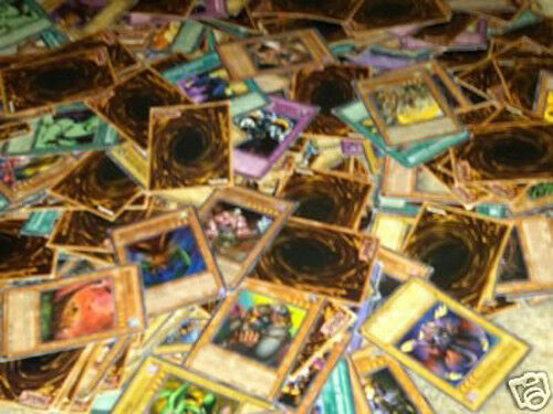 1000 Yu gi oh -kort Assorterade 10 Rares 10 Holos Plus Bonus fri Yu -gi -oh spelamat
