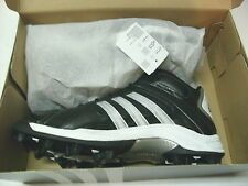 ADIDAS SCORCH DESTROY MD MID MENS FOOTBALL SOCCER LACROSSE CLEATS, SIZE 14