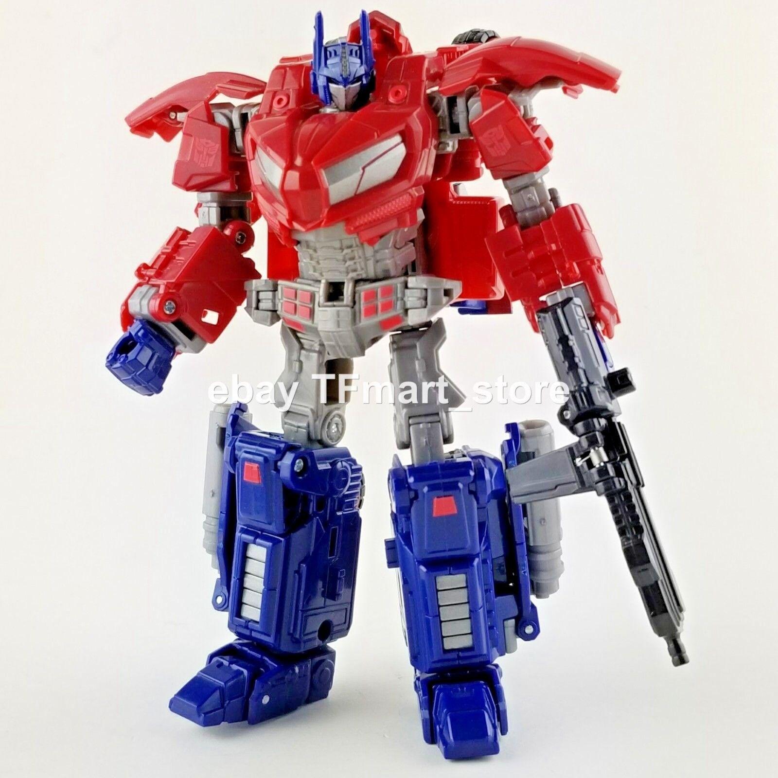 Transformers Generations la Guerra por Cybertron Wfc Optimus Prime 100%