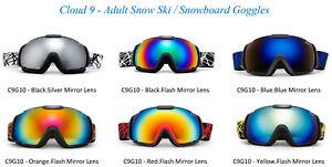 Professional-Ski-Goggles-Snowboard-Winter-Sports-Dual-Lens-Anti-Fog-UV-Protected
