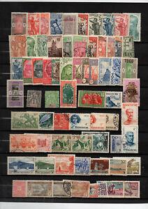 Colonies-francaises-134-timbres-divers-pays-avant-independance