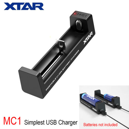 XTAR ANT MC1 USB Charger 14500 16340 18350 18650 26650 Lithium Li-ion Battery Li