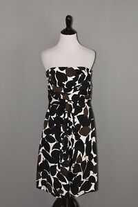 White-House-Black-Market-Women-039-s-Strapless-A-line-Dress-Size-6