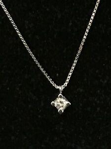 collier ras de cou or blanc diamant