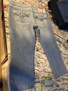 30 True donna Jeans Religion taglia wxIR4Pp