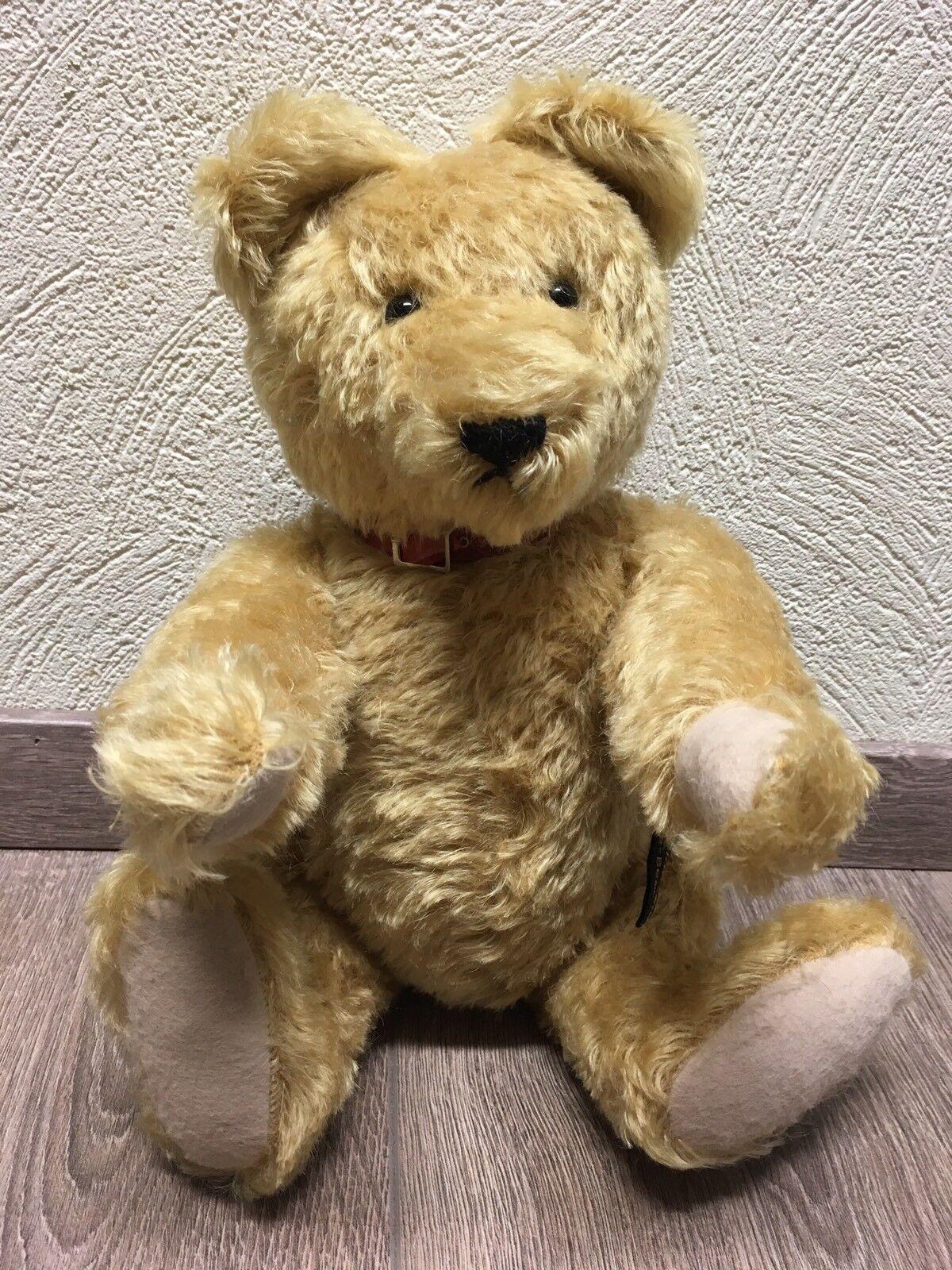Europe-Bear Teddy Bär Johanna Haida 38 cm Bear mit Buckel Und Stimme