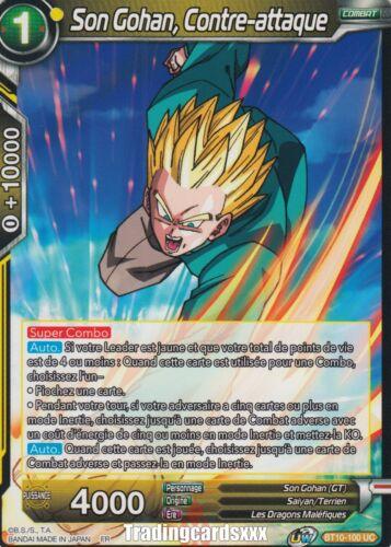 BT10-100 UC Contre-attaque ♦Dragon Ball Super♦ Son Gohan