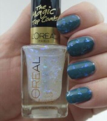 L'Oreal Nail Polish - The Magic Top Coats The Holographic - Flakes & Glitter 804