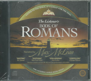 Details about ROMANS (ESV) By Max Mclean -- Brand New