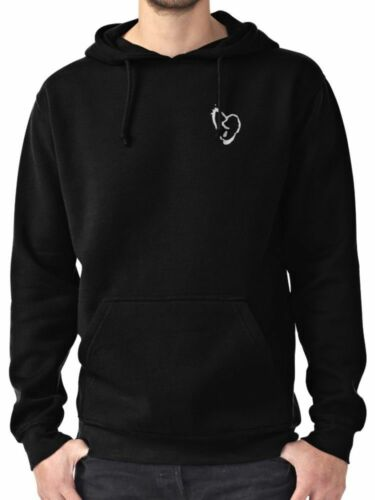XXXtentacion Broken Heart Symbol Men/'s Black Hoodie