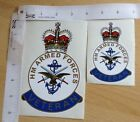 H M Forces Veteran Badge Sticker