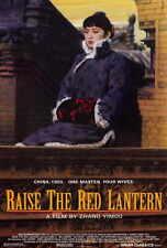 RAISE THE RED LANTERN Movie POSTER 27x40 Gong Li Ma Jingwu He Caifei Cao Cuifeng