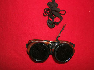 66c6c9bdbf2 Image is loading Vintage-Steampunk-AO-Safety-Welding-Motorcycle-Goggles