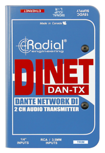 Radial DiNet Dan-TX Dante network transmitter,  BEST OFFER R030