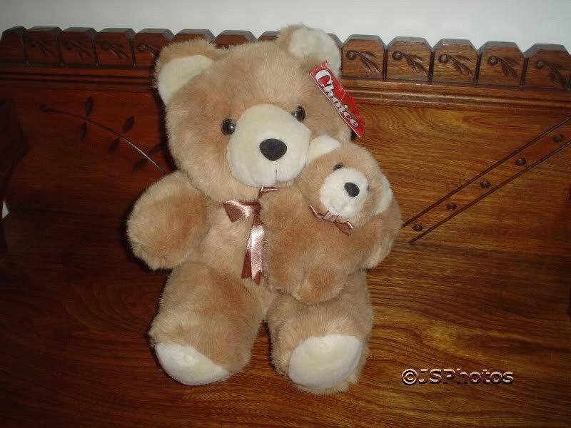 Ganz Teddy Bear  Mom with Baby 1997 Choice