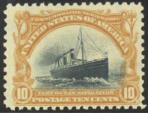 299-10c-Pan-American-Lovely-Mint-NH-Single