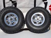 Mini Bike Wheel Rim Kit Astro Alloy Cable Lever Disc Brake Sprocket 410 350 6