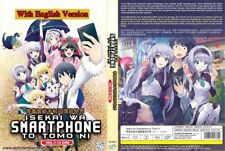 Anime DVD Isekai WA Smartphone to Tomo Ni Vol. 1-12 End Eng Dub
