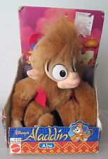 "Disney Aladdin Abu Plush Monkey Stuffed Animal 15"" New In Box Vintage 1992 NRFB"
